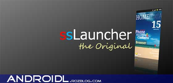 لانچر ssLauncher the Original v1.11.0